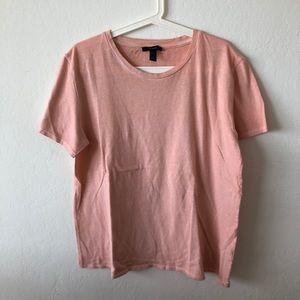 T shirt Coral Men's